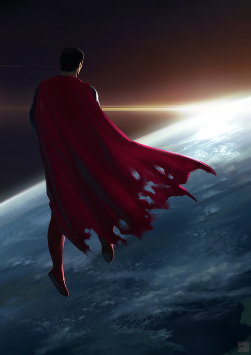 nolanuniverse:  Man of Steel by *Hideyoshi