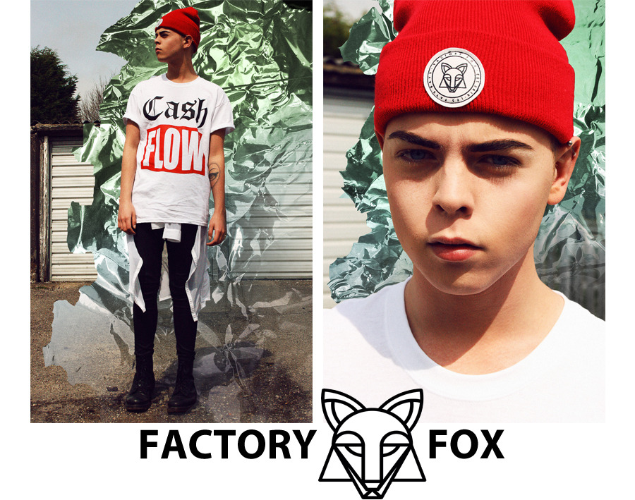 INTERVIEW: MR FOX OF FACTORY FOX The lovely Marciano Lansu Fox first contacted me a couple of weeks ago to introduce himself, his new label FACTORY FOX and its debut collection for SS13. The Netherlands based designer showed me his current online look book and his online store. I was impressed with what I saw and wanted to find out a little more about the brand.   BL: Whats the story behind the name FACTORY FOX, what does it mean and what does it represent?  MF: FACTORY FOX was founded by me in 2010 as a creative underground network with the idea to support young talent and their creativity. Inspired by Warhol, we used 'factory' in the name, as we were a creative team. We have done many things from art videos and installations to interviews with musicians, and even organized parties. Part of it since the very beginning was an online T-shirt and accessories shop, designed and curated by me.  Now, in 2013, I decided to relaunch FACTORY FOX focused on the fashion, but still with the core value of working together with incredible artists. Like a collaborative collection with a graphic artist, a look book shoot by an amazing photography student, a fashion show with a performance of a singer who is the big next thing, it's all possible.  BL: Do you remember where you were when you first came up with the idea to start FACTORY FOX? MF: I have no idea! I think it all happened as a very organic process, like all great things in life. You don't have to obsess about it, it just comes to you naturally.  BL: I know I have my favorites, including the two pieces you kindly gifted me. What is your personal favorite piece from the collection?  MF: To be honest, I love the entire collection and I am unconsciously wearing pieces of it in all of my outfits. But if I have to choose, my favorite of the moment is the Stamp T-shirt with our logo on it. Ellie Goulding has recently been spotted in that Tee, and I really lucky when wearing it because her support is an amazing way to reach more people and introduce them to FACTORY FOX. I am very thankful for that.  BL: What do you think the differences are between the fashion where you are from in the Netherlands and the fashion here in the UK?  MF: My impression is that the UK has more of a fashion identity, with an international bespoke Fashion week and many influential designers. In The Netherlands they are really trying to push fashion forward and I think that's great, but we're not there yet! Though I'm very proud of Viktor & Rolf and brands like G-Star Raw. But you know what, in the current time it really doesn't matter anymore where you live. We have the internet and borders of countries are fading more and more. Finding your way in life has never been this easy, it's an open road. This is also something FACTORY FOX stands for. For example, our online store delivers all orders free to every location in the world. No difference whether you live in Europe or Asia, everybody is warmly welcomed.  BL: How would you describe the ideal FACTORY FOX boy or girl in 3 words?  MF: Adventurous, confident and trendsetting.  BL: What can we expect to see from FACTORY FOX next?  MF: My main focus at the moment is to introduce and involve people in the brand, to show what FACTORY FOX is all about. It's not just fashion label, it's about an energy, a movement in youth culture. And it has only just began. Check more out at http://factoryfox.com/
