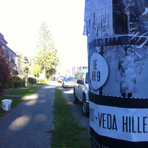 What a beautiful day in #eastvan #vancouver #verses13  (at East 4th Ave)