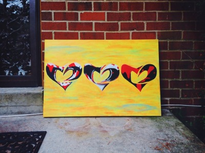 """philheartz:  Need a buyer for this 24x36"""" piece entitled """"Internal Bleeding"""". For serious inquires ONLY contact PHILHEARTZ@GMAIL.COM"""