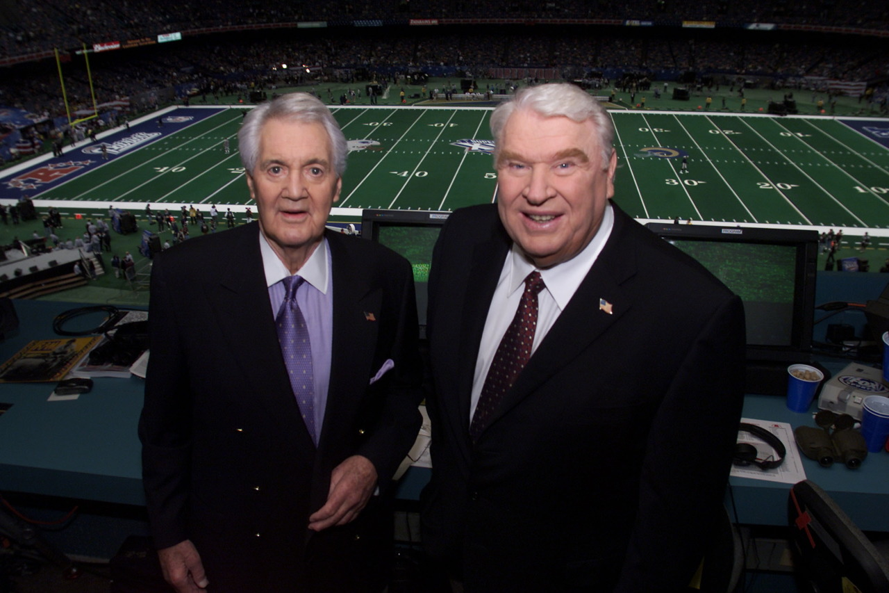 Legendary broadcaster Pat Summerall has died at 82. Summerall, left, will forever be linked with NFL broadcasting partner John Madden calling Sunday afternoon games in the fall.