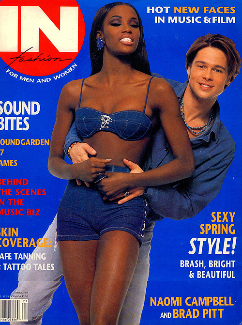 blackgirlwhiteboylove:  People just don't know! Brad Pitt was swirlin for years, from the late 80s to early 90s.  Reblogging again :-)