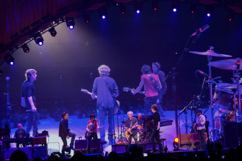 The Rolling Stones and Tom Waits performing 'Little Red Rooster' at last night's show at the Oracle Arena, Oakland, CA.http://www.rollingstones.com/2013/05/06/oracle-arena-oakland-may-5-2013-set-list/