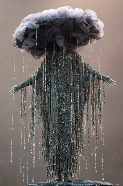 reliquatory:    Goddess of Depression   Depression? Too bad. I love the rain.
