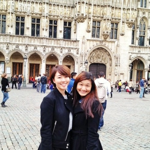 At the Grand Place with @daphghq 😊 (at Brussels | Bruxelles | Brussel)