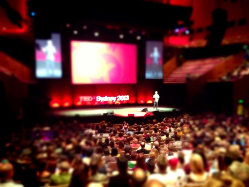 Watch TEDxSydney live today at http://www.TEDxSydney.com/live while The New Agency team help produce the event