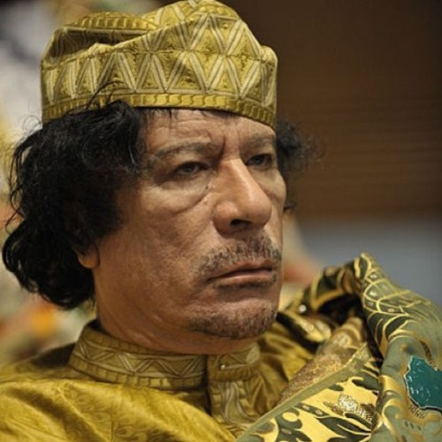 branflakesxxx:  Don't know who this man is? He was Muammar Gaddafi. Loved president of Libya. He was killed by the US government using military force without being associated with the USA whatsoever. He was accused of using military force on his citizens…sound familiar, guys? Please THINK before you support the US military and allow things like this to happen. #truth #USA #america #obama #liberty #libya #remember #atrocities
