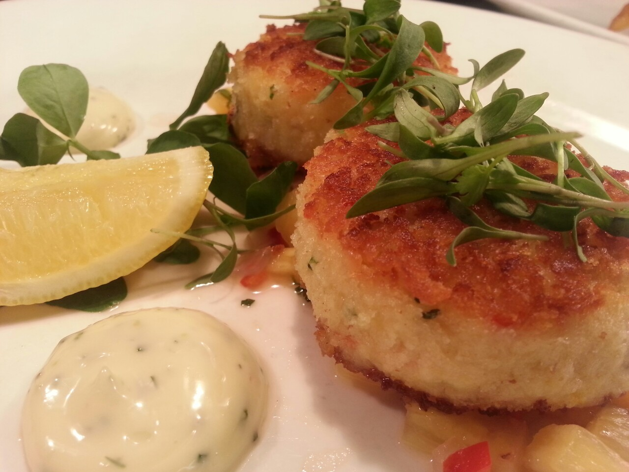 Crab Cake lovers this one's for you. $16