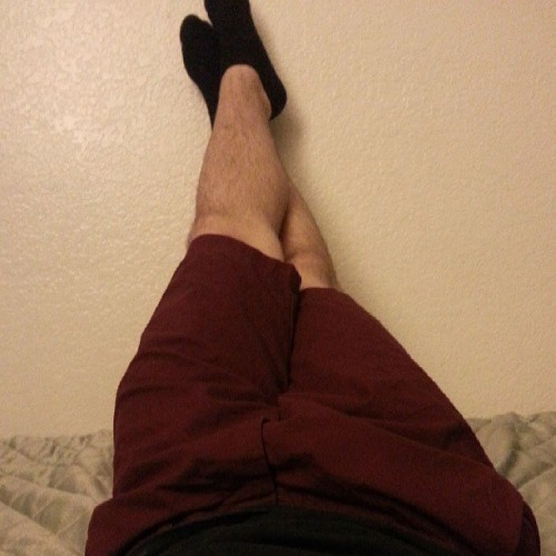 I'm really loving my new maroon shorts. :)
