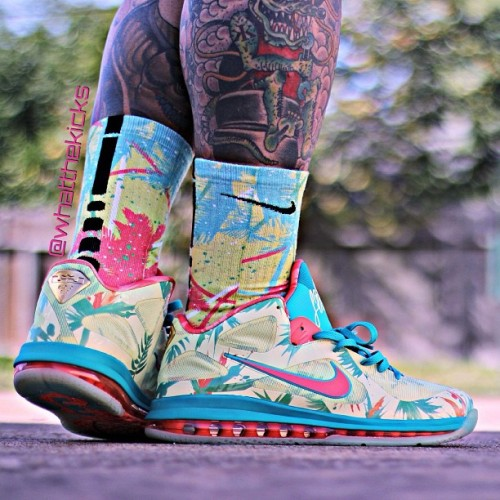 "LeBron 9 ""Lebronold Palmer""    Photo courtesy of @Whatthekicks"