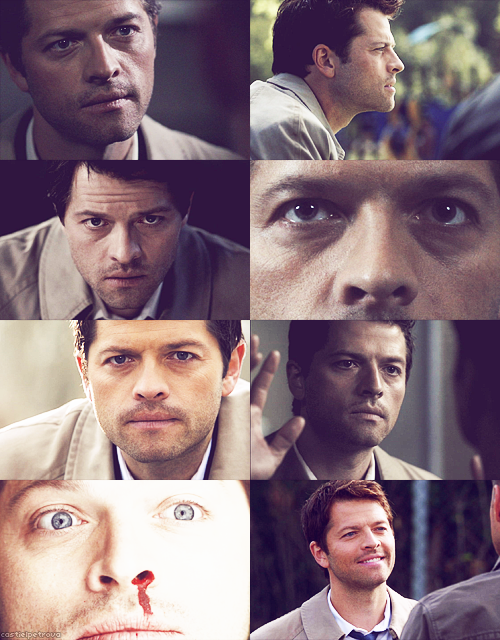 SCREENCAP MEME↳ castiel + up close & personal → for yourstrulycastiel