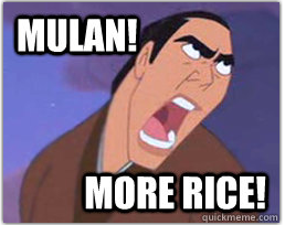 super-smash-bras:  Shang makes weird faces in Mulan II