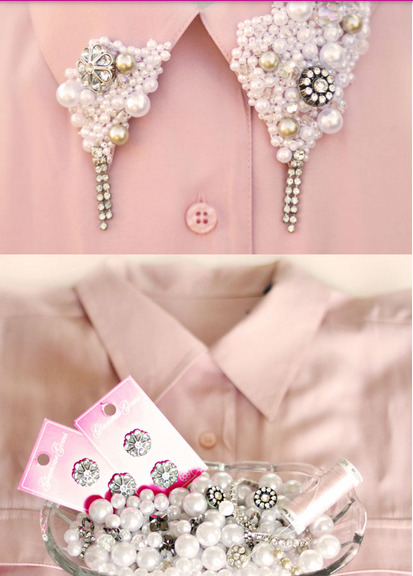 DIY Fashion Collar from Fashion Diva Design