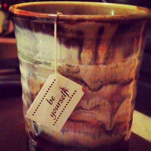 Such a #wise #tea bag.
