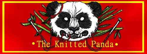 panda-digest:  The Knitted Panda Facebook Banner - by TheKnittedPanda  THIS IS MT BUSINESS :D