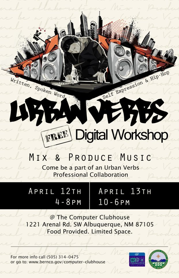 Send your teenager to Bernalillo County's Two-Day Digital Workshop. It costs nothing, and could be worth their future. No pressure. More details and updates at http://www.bernco.gov/KRS or @urbanverbs on Twitter.