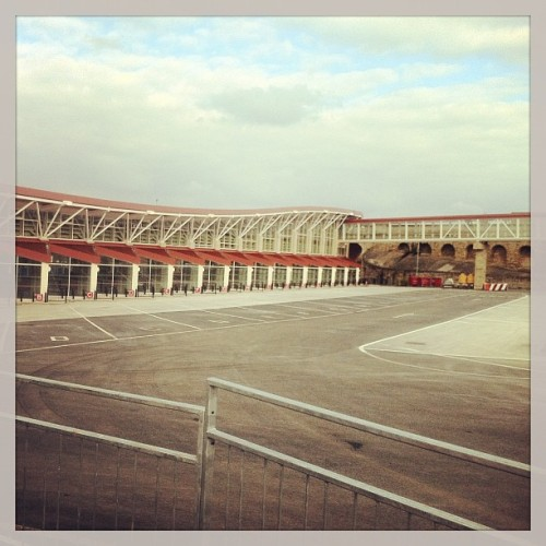 It's our new bus station  (at mansfield new bus station)