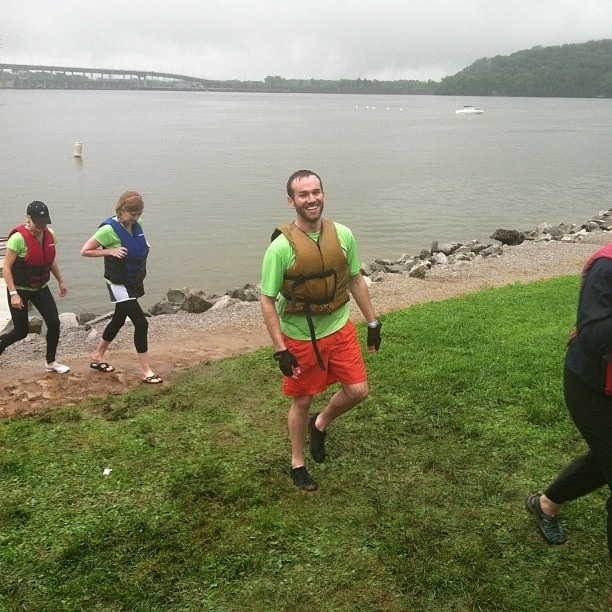 I raced the dragon boat in the cold rain and helped Children's Hospital raise over $228,000!
