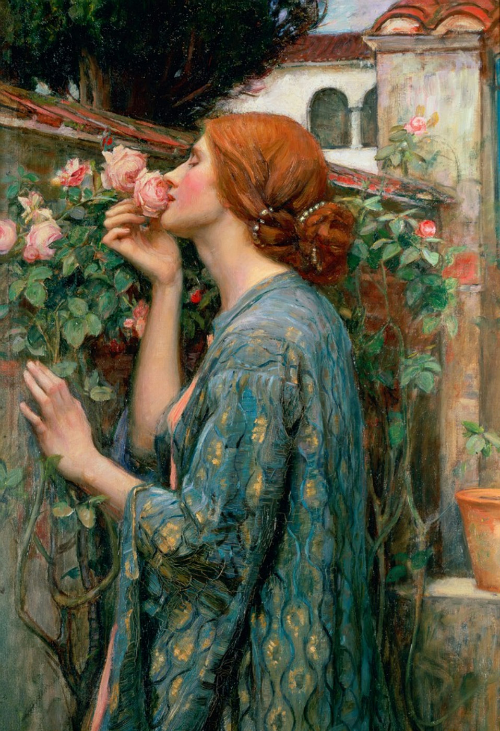 the soul of the rose by john william waterhouse (1908)