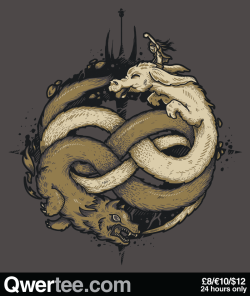 "qwertee:  Just 12 hours remain to get our Last Chance Tee ""NEVERENDING FIGHT"" on www.Qwertee.com/last-chance Get this great design now for £10/€12/$14 before it's GONE FOREVER! Be sure to ""Like"" this for 1 chance at a FREE TEE this weekend, ""Reblog"" it for 2 chances and ""Follow"" us for a 3rd chance (if you're not following us already:) Thanks as always!"""