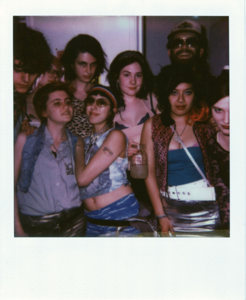 zoebrowne:  Trashy Party 2013  Me & my friends turning out some hot trash like we mean it