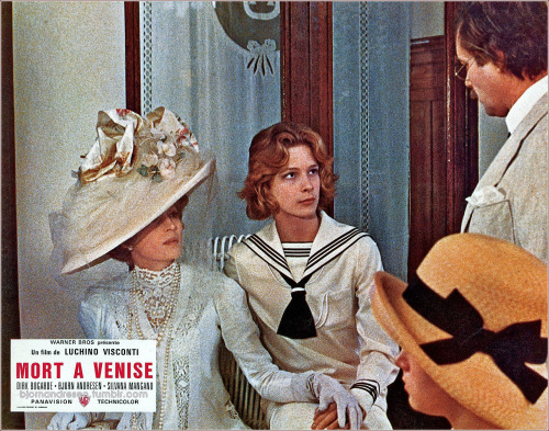 French lobby card for Mort à Venise