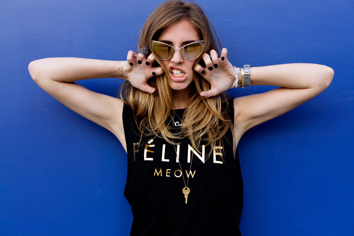 k-itsch:  the—one:  vogue-ordie:  Chiara Ferragni.  Inspiration? here x