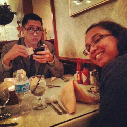 Repost of me and the cuz from @thelonbon  (at Harold & Belles Restaurant)