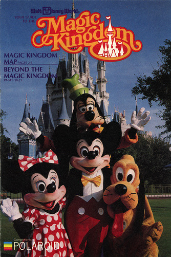 Walt Disney World Magic Kingdom Guide (1983) by scad92 on Flickr.