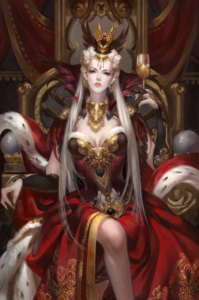 animecorecollection:  Guinevere by ~jjlovely