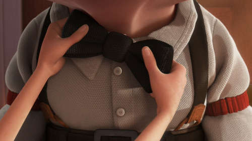 disneypixar:  Carl's ties over the years.