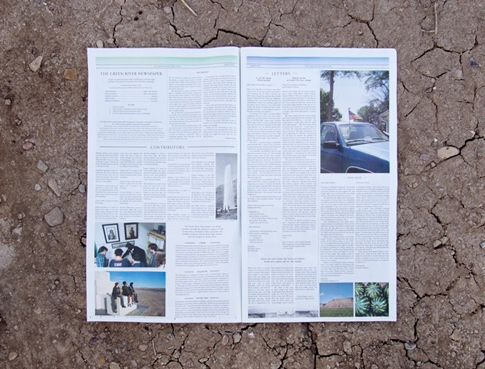 sincerelyinterested:  The Green River Newspaper is here.