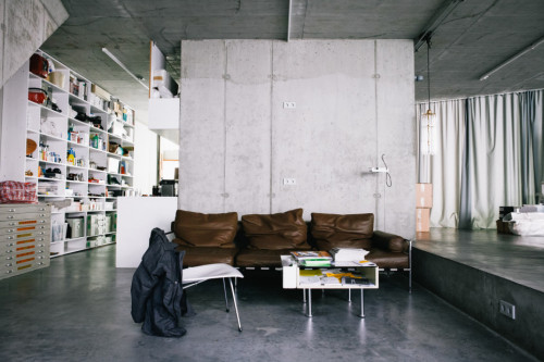 Arno Brandlhuber / Architect, Apartment & Office, Mitte, Berlin