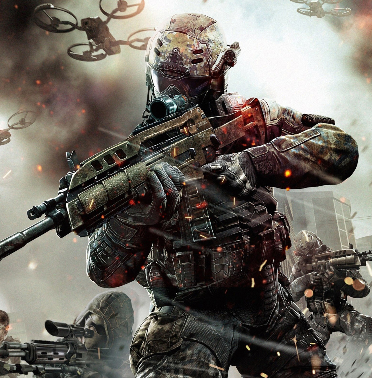 gamefreaksnz:  Black Ops II Revolution DLC hits PS3, PC  Activision and Treyarch today announced that Revolution, the first DLC for Call of Duty: Black Ops II, is available now for PlayStation 3 and Windows PC.