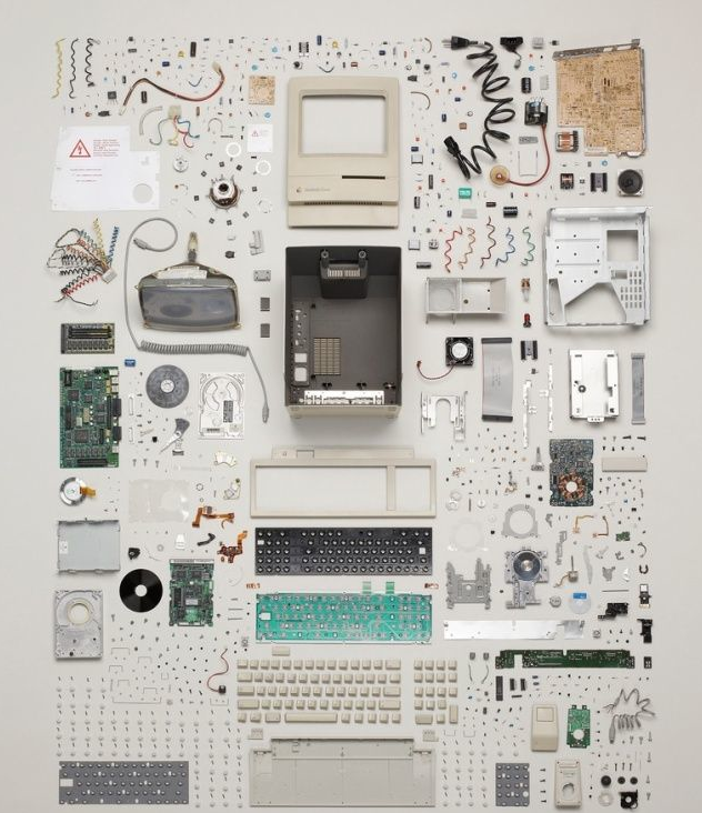 iheartapple2:  The Dissection Of A Vintage Mac