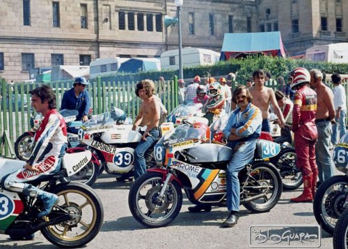 habermannandsons:  70's Heroes Spanish GP 1976