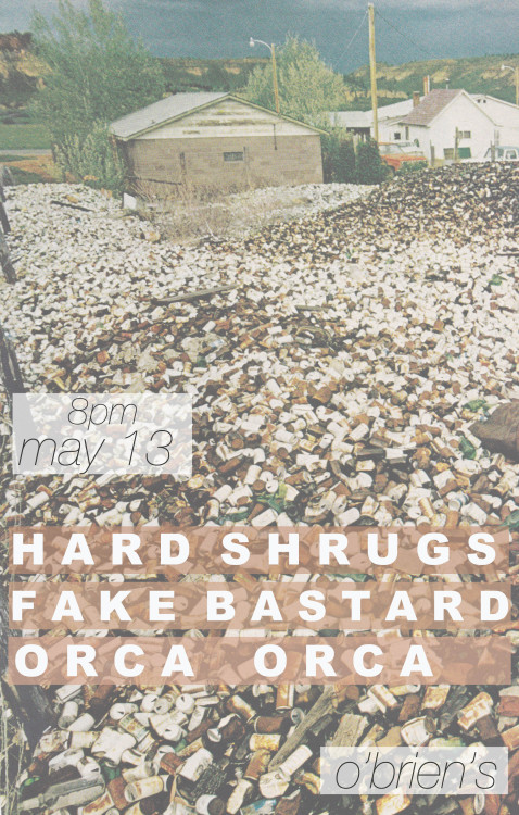 orcaorca:  here's our next one.  its our friends Hard Shrugs' first show and about time they let you hear their killer tunes.  THE RETURN OF MEATWAD!