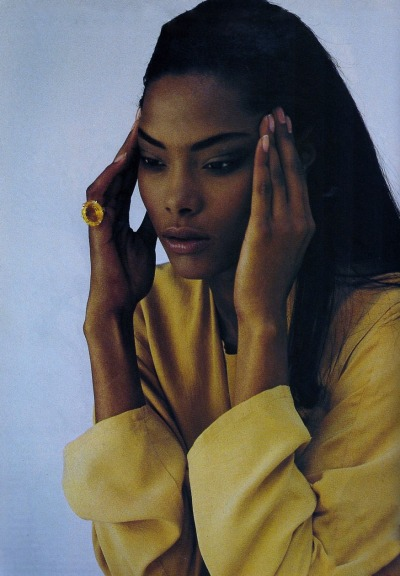 "halogenic:  ""MAÎTRE DE SOIE"" - Vogue Paris, May 1990"