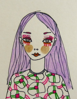 doodoodloo:  She Had Lilac Locks