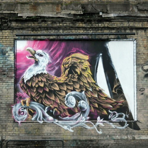 #streetartlondon by @drzadok  #zadok  (at Village Underground)