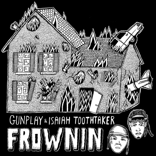 "Gunplay & Isaiah Toothtaker - ""FROWNIN""(Blue Sky Black Death Remix) MMG standout Gunplay makes yet another random collaborative gem. This time, its with Arizonian emcee Isaiah Toothtaker of experimental hardcore rap crew Machina Muerte on new track ""FROWNIN"" featuring booming dark electronic production by Blue Sky Black Death. Don Logan brings the reality and floats on the beat as always while Toothtaker hits with some blunt-force punchlines such as ""Ride or die, right? Why you acting car sick?"" and ""A real son of a gun, right? My mother was a cartridge. Wanna shoot the fair one outside? I'm somewhat of a marksman."" Interestingly enough, this is actually the remixed version of the track. It's not every day you get to hear the remix before the original. <a href=""http://isaiahtoothtaker.bandcamp.com/track/frownin-blue-sky-black-death-remix"" data-mce-href=""http://isaiahtoothtaker.bandcamp.com/track/frownin-blue-sky-black-death-remix"">FROWNIN (Blue Sky Black Death remix) by Gunplay + Isaiah Toothtaker</a> Download ""FROWNIN"" (Blue Sky Black Death Remix)"