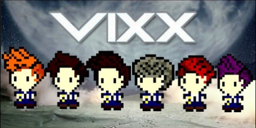 theknottyloft:  Vixx - On And On Pixel Art Creation