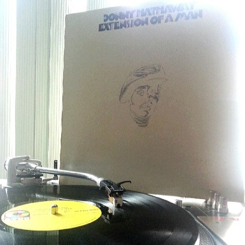 "IMO, Donny Hathaway's ""Extension of a Man"" is one of the best albums ever, with ""I Know It's You"" being one of the most beautiful songs ever made. #goodmorning #vinyl #soul #donnyhathaway"