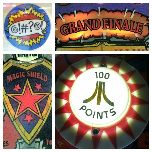 Grand Finale at Pinball Hall of Fame, Las Vegas. #arcade #typography #graphic #design