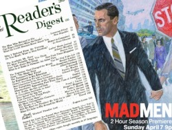 """Mad Men"" Season 6 Secrets in a Vintage Reader's Digest?                  Big fans of AMC's ""Mad Men,"" we turned to a 1967 issue of our magazine for possible plot points. Here's what we found."