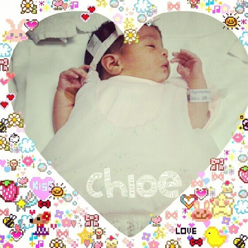 Baby chloe is so kawaii <3