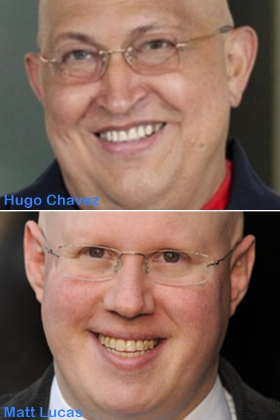 Just realized who should play Hugo Chavez in the movie.
