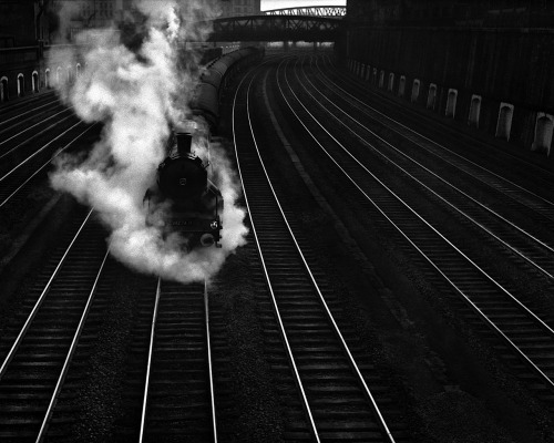 René Groebli Railway Magic, 1949 From The Rail Magic Series