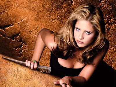 "huffposttv:  Sarah Michelle Gellar: I Can't Be Prouder of 'Buffy' It's been 10 years since ""Buffy the Vampire Slayer"" ended its seven-year run on TV. I had the chance to ask series star Sarah Michelle Gellar about the show's lasting legacy.  ""Wait, wait. Hold on. Really?"" she replied when The Huffington Post told her the 10th anniversary of the ""Buffy"" finale was upon us. ""Wow. God, you just blew my mind."" Robin Williams, who accompanied Gellar on the red carpet said, ""It's kind of wonderful."" ""It is,"" Gellar said. ""I'm incredibly proud of that show — proud of everybody on it, of what we did … You can't be prouder of that show. It still holds up in reruns and I'm blessed every day … I've been pretty lucky."""