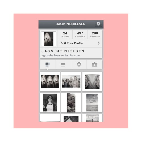 Follow me on Instagram!  jasminenielsen